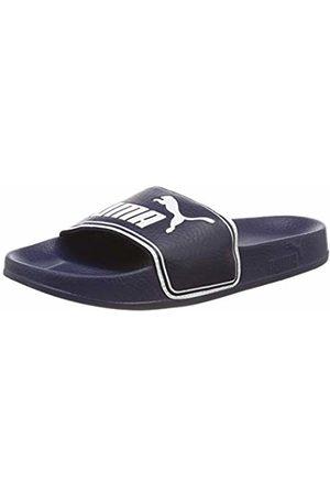 Puma Unisex Kids' Leadcat PS Beach & Pool Shoes, (Peacoat )