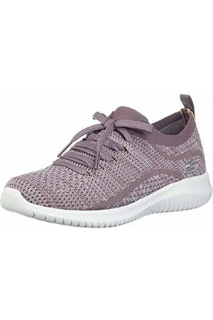Skechers Ultra Flex Thrive Up Trainers Womens Jewel Sparkle Mesh Shoes 13113