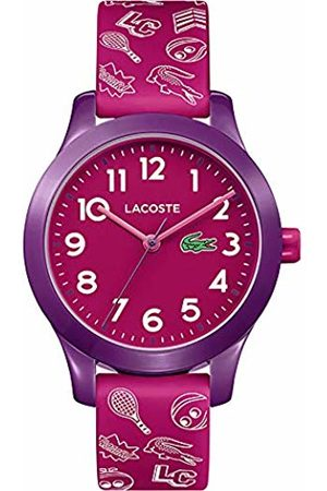 Lacoste Unisex-Child Analogue Classic Quartz Watch with Silicone Strap 2030012