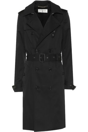 Saint Laurent Cotton-blend trench coat