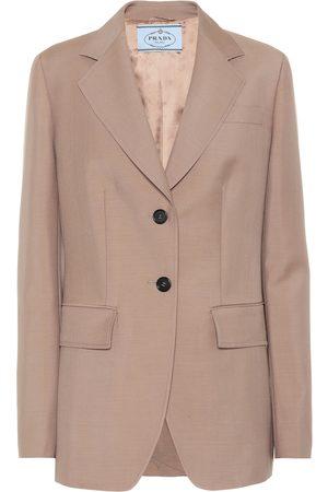 Prada Mohair and wool blazer