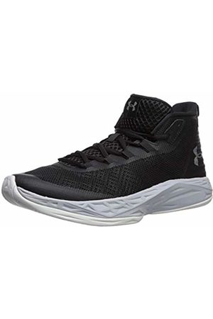Under Armour Men's Jet Mid Basketball Shoes, /Mod Gray/Metallic 003