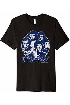 Star Trek Original Series Classic Crew Retro Graphic T-Shirt