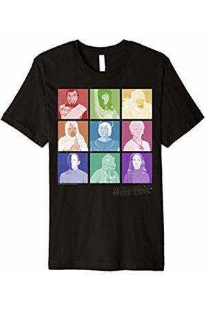 Star Trek Original Series 9 Square Alien Pop Graphic T-Shirt