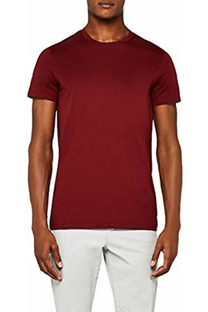 MERAKI Men's Regular Fit Crew Neck T-Shirt