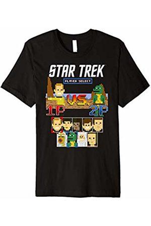 Star Trek Men T-shirts - Original Series Kirk vs Gorn 8-Bit Graphic T-Shirt