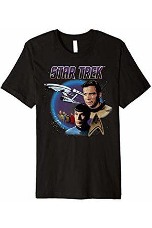 Star Trek Original Series Vintage Enterprise Graphic T-Shirt