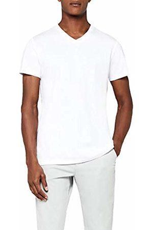 MERAKI Men's Regular V-Neck T-Shirt