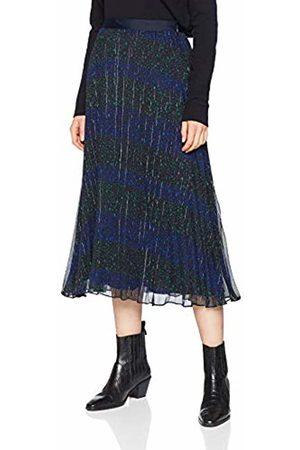 Tommy Hilfiger Women's Luna Midi Skirt (Allover Star PRT/ Beauty 058)