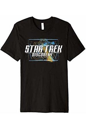 Star Trek Discovery Galactic Geo Nebula Logo Premium T-Shirt