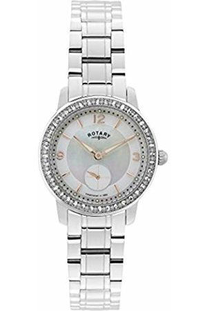 Rotary Women Watches - Women's Quartz Watch with Mother of Pearl Dial Analogue Display and Stainless Steel Bracelet LB02700/41