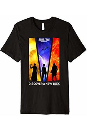 Star Trek Discovery New Trek Silhouette Premium T-Shirt