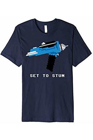 Star Trek Original Series Pixel Phaser Set To Stun T-Shirt