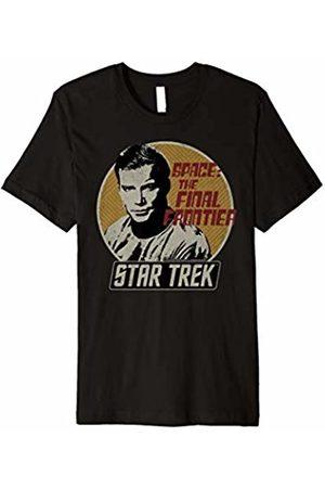 Star Trek Original Series Kirk Retro Badge Premium T-Shirt