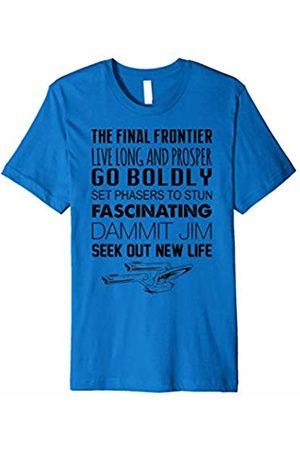 Star Trek Original Series Live Long Scripted Premium T-Shirt