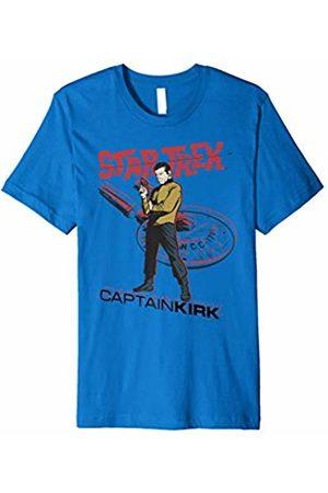 Star Trek Original Series Captain Kirk Comic Premium T-Shirt