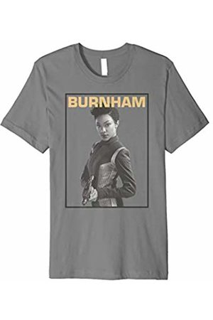 Star Trek Discovery Burnham Greyscale Pose Graphic T-Shirt