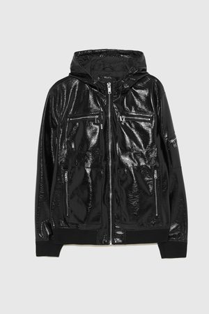 Buy Zara Leather Jackets For Men Online Fashiola Co Uk Compare Buy