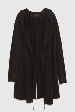 Zara ASYMMETRIC HOODED CAPE
