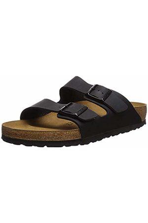 Birkenstock Arizona, Unisex Adults' Sandals (SCHWARZ)