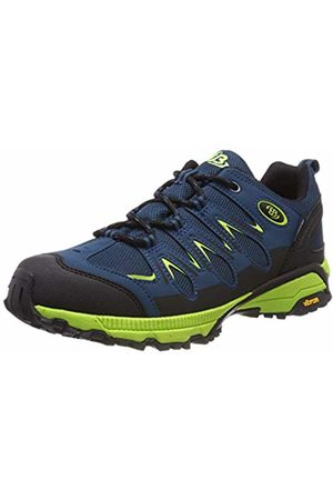 Bruetting Unisex Adults' Expedition Nordic Walking Shoes, Petrol/Lemon