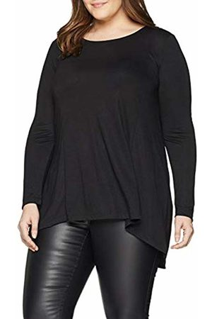 Simply Be Women's Plain Dip Back Tunic T-Shirt