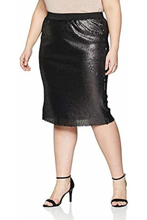 Simply Be Women's Sequinned Pencil Skirt