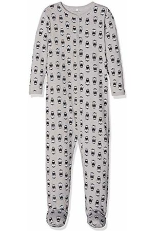 Name it Baby Nbnnightsuit 1p W/f Sleepsuit, Alloy