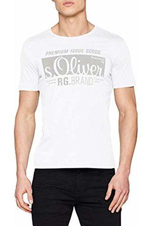 s.Oliver Men's 03.899.32.5206 T-Shirt, ( 0100)