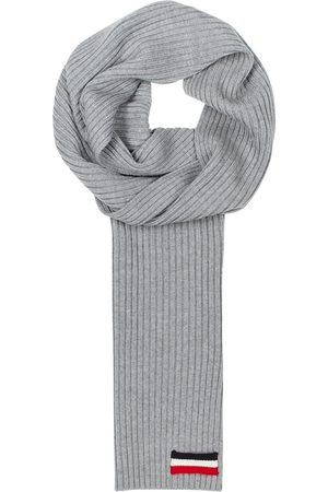 Moncler Ribbed-knit Wool Scarf