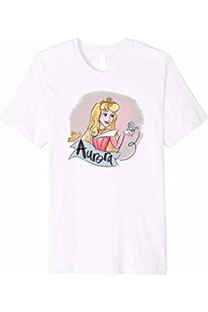 Disney Sleeping Beauty Princess Aurora in Pink Dress T-Shirt