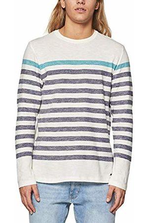 Esprit Men's 019ee2k008 Long Sleeve Top, ( 100)