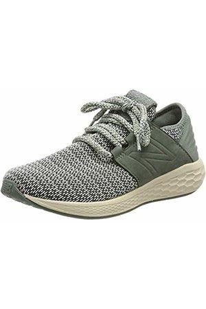 New Balance Women Shoes - Women's Fresh Faom Cruz v2 Hygge Pack Running Shoes, Camp Smoke