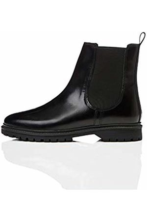 find. Chunky Leather Chelsea Boots