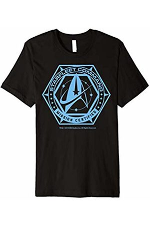 Star Trek Discovery Blue Mission Certified Graphic T-Shirt