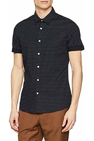 New Look Men's Muscle Polka 5999685 Casual Shirt