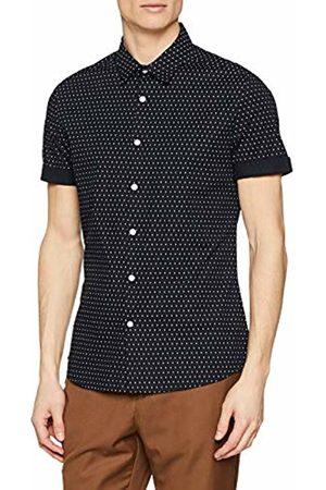 New Look Men's Muscle Polka 5999685 Casual Shirt