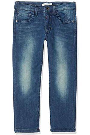 Name it Boy's Nkmbarry Dnmteddy 2154 Pant Jeans, Medium Denim