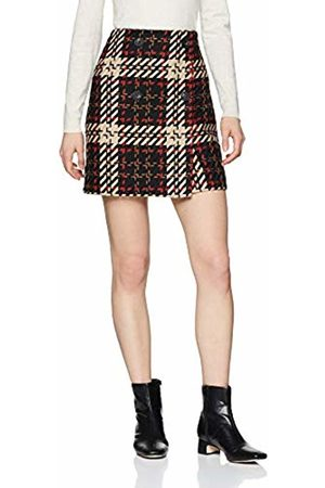 warehouse Women's Check Pelmet Skirt, ( Pattern 76)