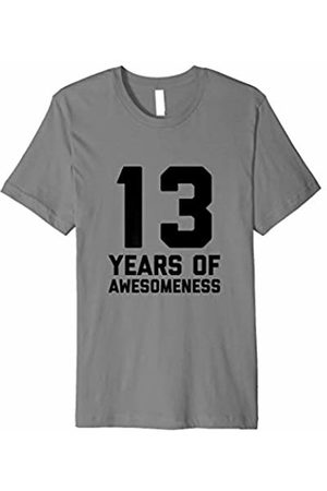 13th Birthday T Shirt Gift Age 13 Thirteen Year Old Boy Girl