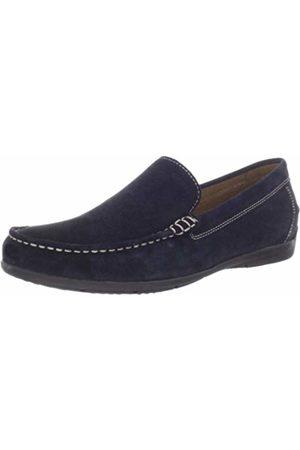 Geox Men's U SIMON A Loafer Flats, Blue