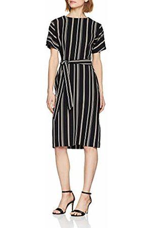 warehouse Women's Stripe Button Detail Wiggle Dress, ( 99)