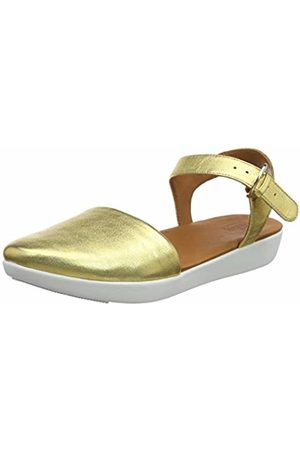 a83f6b596 FitFlop Women s Mixed Buckle CARA Quarter Strap Closed Toe Sandals