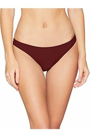 0b11cb75550ef Seafolly Women s Active High Cut Pant Bikini Bottom Swimsuit Plum