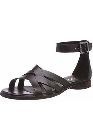 Ecco Women's W Flat Ankle Strap Sandals