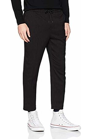 New Look Men's Pin Stripe Pull On5988777 Trousers