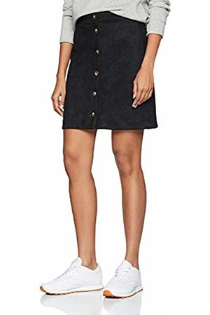 New Look Women's Suedette Button6022486 Skirt