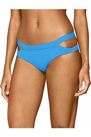 Seafolly Women's Active Multi Strap Hipster Bikini Bottom Swimsuit Electric