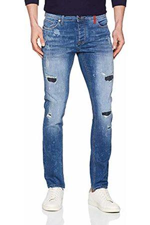 Redskins Men's TROCA Global Slim Jeans, (Destroy )