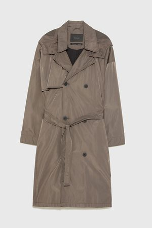 Zara OVERSIZED TRENCHCOAT
